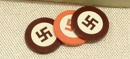 Fichas de poker nazistas 264