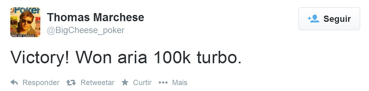 Tom Marchese Aria twitter