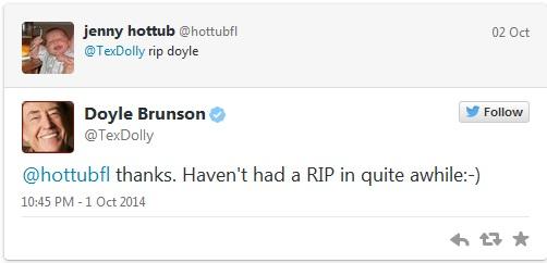 Doyle Brunson cirurgia