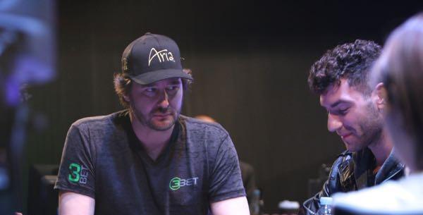 Phil Hellmuth e Alex Antonios