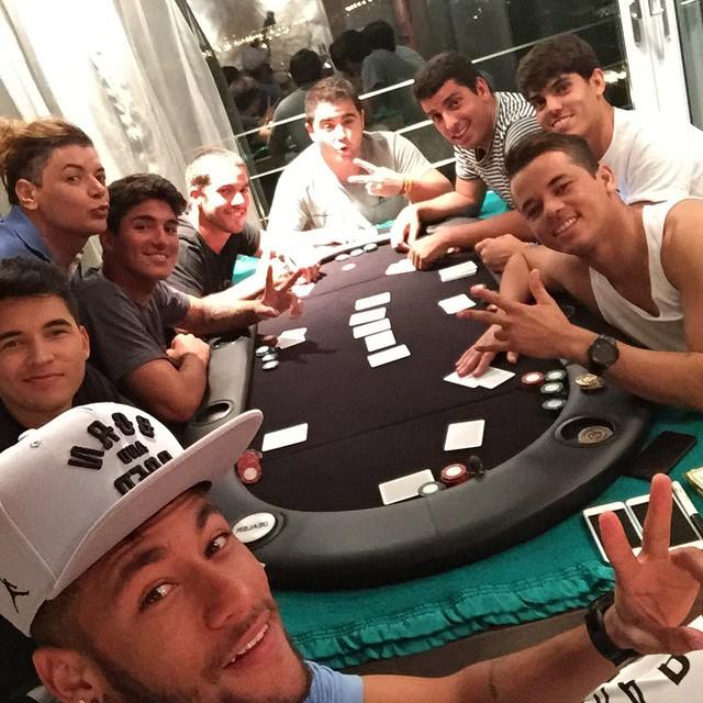 Poker Neymar Gabriel Medina