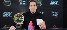 Camilo Posada campeão 5K PLO BSOP Millions