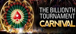 Torneio 1 bilhão PokerStars