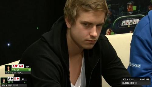 Viktor Blom AA Golden Cash Game
