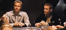 Brad Pitt poker