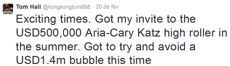 Tom hall twitter Aria