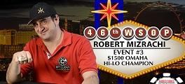 Robert Mizrachi WSOP 2015