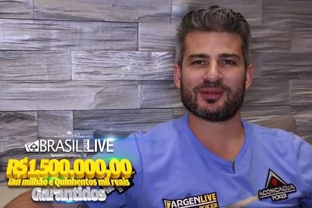 Nacho Barbero Brasil Poker Live