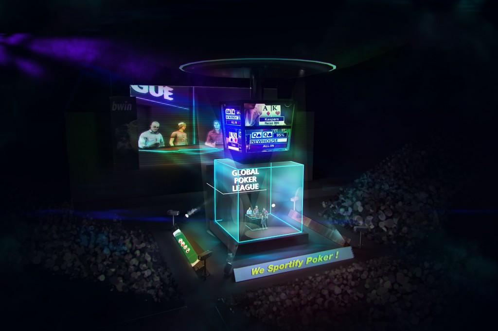 Global Poker League Cube