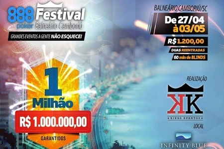 888poker Festival Camboriu