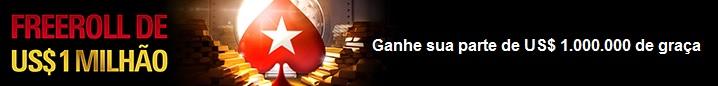 freeroll pokerstars 1 milhão g