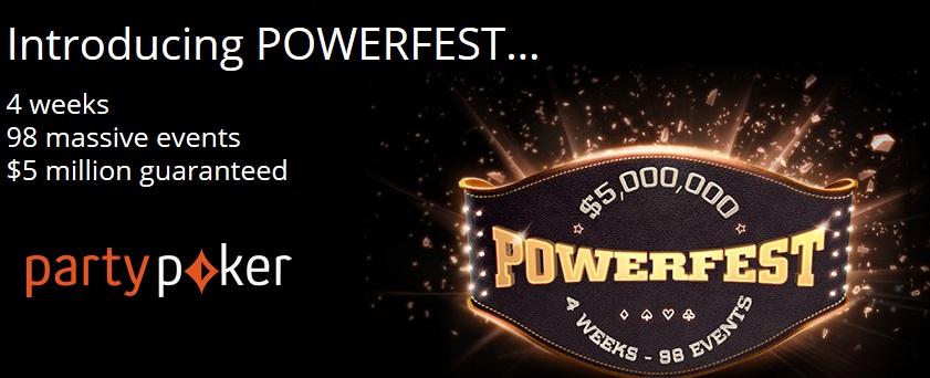 powerfest party poker g