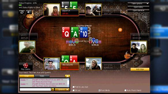 poker cam 888poker