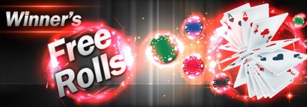 winner poker freeroll g