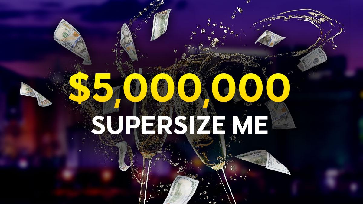 Supersize ME 888poker wsop