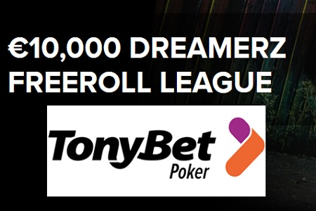 TONYBET FREEROLL LEAGUE 450