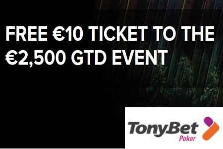 tonybet free 10 450