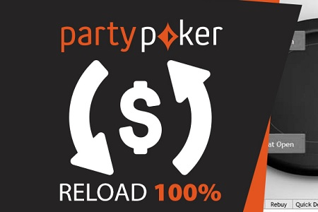 bonus reload partypoker 450