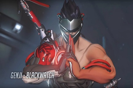 Genji Overwatch Blackwatch