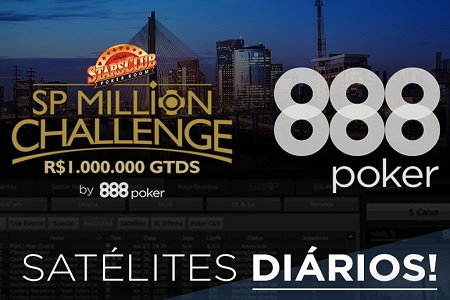 satelite sp million challenge 888poker 450