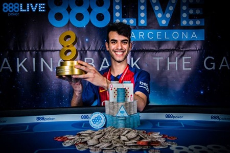 Luigi Shehadeh 888live Barcelona