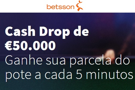 betsson cash drop 450