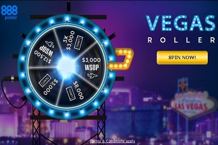 spin vegas 888poker 450