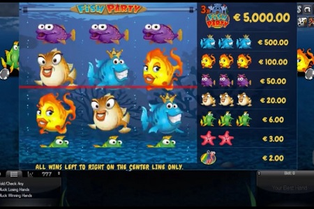 fish party slot 450