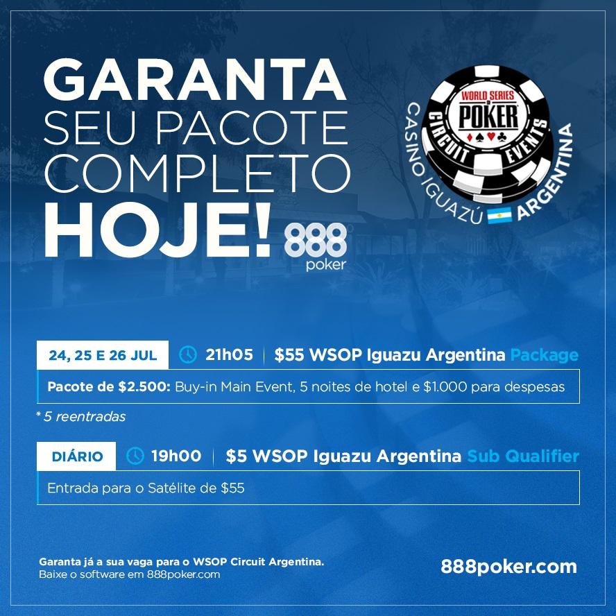 satélite wsop argentina 888poker G