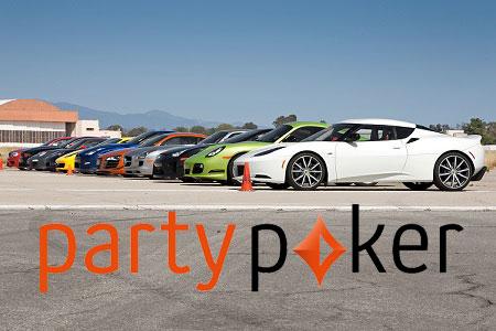corrida de pontos partypoker