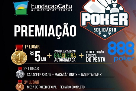 cafu poker solidario 888poker 450