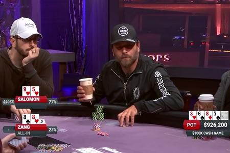 rick salomon pote milhão poker after dark