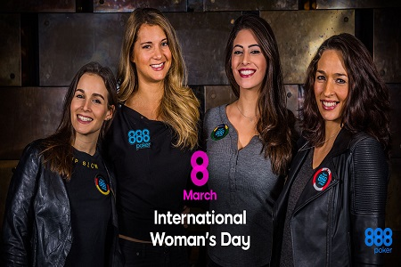 dia internacional da mulher 888poker