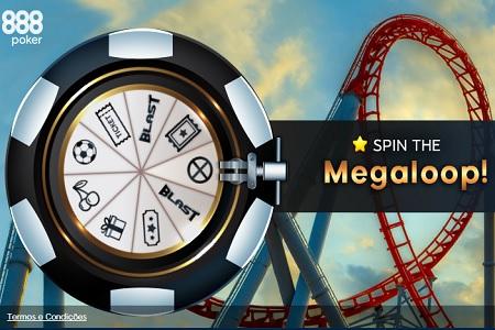 megaloop spin 888poker 450
