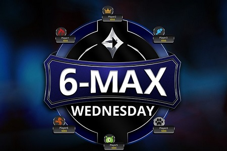 partypoker wednesday 6 max 450