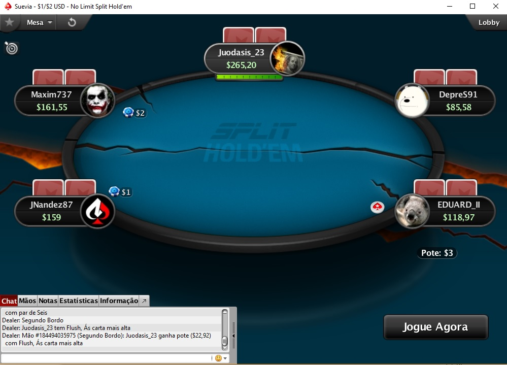 split poker pokerstars g