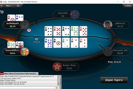 split poker pokerstars