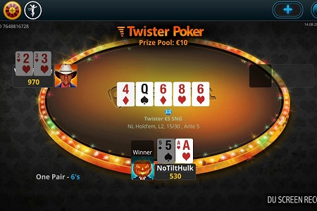 twister poker netbet 450