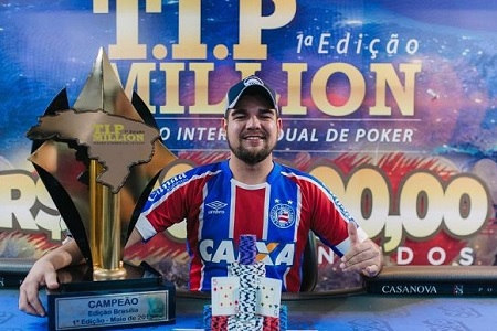 joão marcelo campeão tip million 450