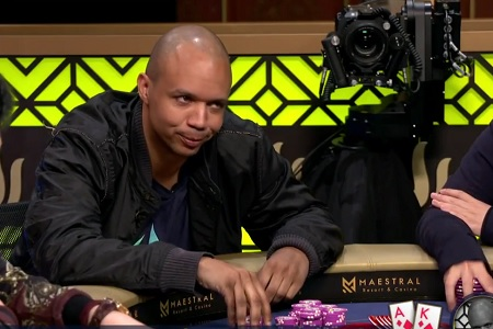 tom dwan phil ivey cash game triton series 450