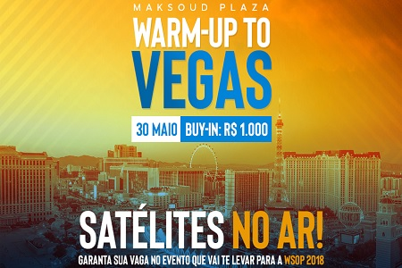 warm up to vegas 888poker wsop 450