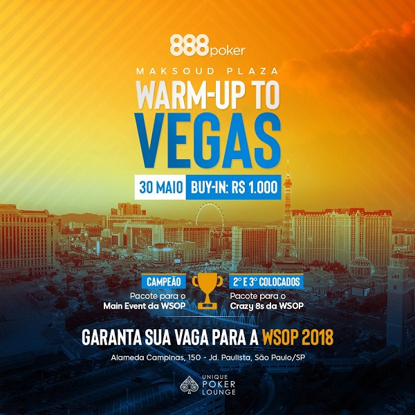 warm up to vegas wsop 888poker g