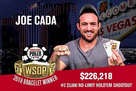 Joe Cada WSOP 2018