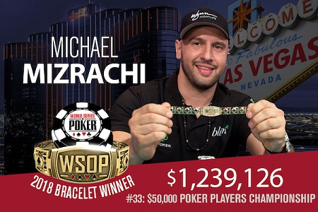 michael mizarchi poker players championship 450