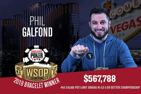 PHIL GALFOND BRACELETE WSOP 450