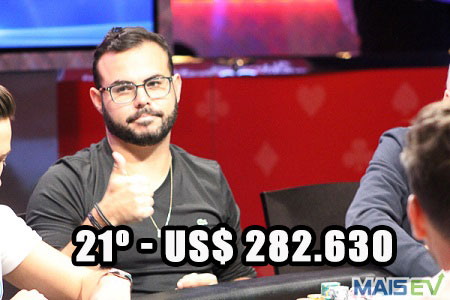 paulo gonçalves eliminado main event wsop 450