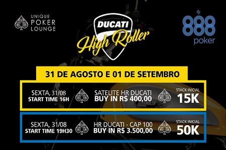 ducati high roller 888poker 450 c