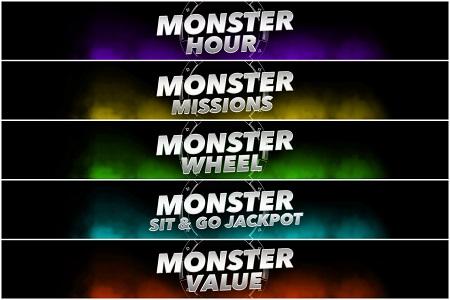promoções monster series partypoker 450