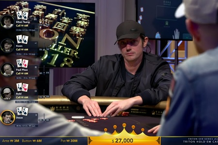 tom dwan cash game triton super high roller series 450