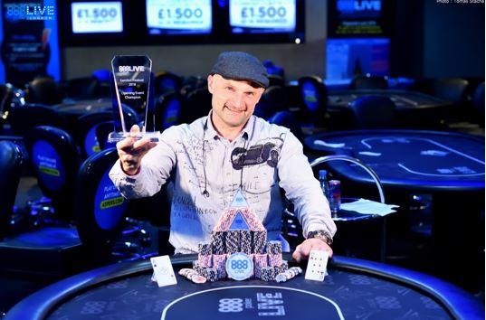 888poker live londres Arvydas Budvytis